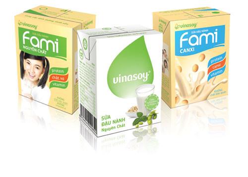 ảnh minh họa: các loại sữa đậu nành trên thị trường